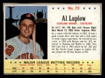 1963 Post #73  Al Luplow  Front Thumbnail