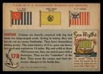 1955 Topps Rails & Sails #178   Cruiser Back Thumbnail
