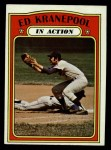 1972 Topps #182   -  Ed Kranepool In Action Front Thumbnail