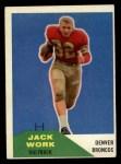 1960 Fleer #88  Jack Work  Front Thumbnail