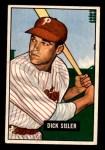 1951 Bowman #52  Dick Sisler  Front Thumbnail