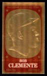 1965 Topps Embossed #19  Roberto Clemente  Front Thumbnail