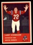 1963 Fleer #11  Larry Eisenhauer  Front Thumbnail