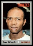 1970 Topps #253  Ron Woods  Front Thumbnail