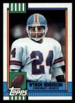 1990 Topps #43  Wymon Henderson  Front Thumbnail