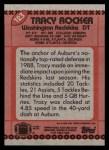1990 Topps #123  Tracy Rocker  Back Thumbnail