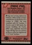 1990 Topps #81  Mike Piel  Back Thumbnail