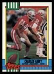 1990 Topps #17  Charles Haley  Front Thumbnail