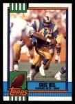 1990 Topps #77  Greg Bell  Front Thumbnail