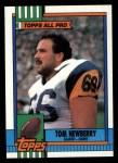 1990 Topps #70  Tom Newberry  Front Thumbnail
