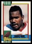 1990 Topps #125  Charles Mann  Front Thumbnail