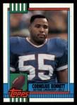 1990 Topps #208  Cornelius Bennett  Front Thumbnail