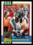 1990 Topps #246  Percy Snow  Front Thumbnail