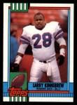 1990 Topps #210  Larry Kinnebrew  Front Thumbnail