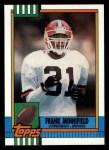 1990 Topps #159  Frank Minnifield  Front Thumbnail
