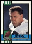 1990 Topps #284  Howie Long  Front Thumbnail