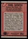 1990 Topps #263  Neil Smith  Back Thumbnail