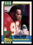 1990 Topps #251  Leonard Griffin  Front Thumbnail
