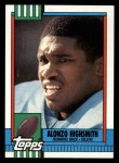 1990 Topps #220  Alonzo Highsmith  Front Thumbnail