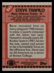 1990 Topps #241  Steve Trapilo  Back Thumbnail
