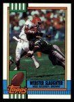 1990 Topps #158  Webster Slaughter  Front Thumbnail