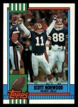 1990 Topps #203  Scott Norwood  Front Thumbnail