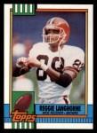 1990 Topps #171  Reggie Langhorne  Front Thumbnail