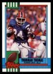 1990 Topps #206  Thurman Thomas  Front Thumbnail