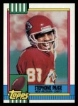 1990 Topps #258  Stephone Paige  Front Thumbnail