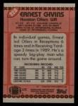 1990 Topps #228  Ernest Givins  Back Thumbnail
