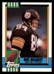 1990 Topps #186  Mike Mularkey  Front Thumbnail