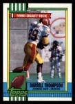 1990 Topps #155  Darrell Thompson  Front Thumbnail