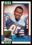 1990 Topps #217  Drew Hill  Front Thumbnail