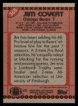 1990 Topps #365  Jim Covert  Back Thumbnail
