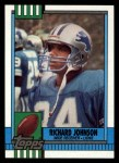 1990 Topps #350  Richard Johnson  Front Thumbnail