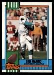 1990 Topps #323  Dan Marino  Front Thumbnail