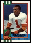 1990 Topps #412  Donald Igwebuike  Front Thumbnail