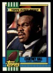 1990 Topps #388  Courtney Hall  Front Thumbnail