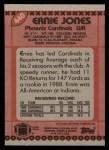 1990 Topps #440  Ernie Jones  Back Thumbnail