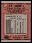 1990 Topps #438  J.T. Smith  Back Thumbnail