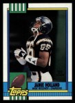1990 Topps #398  Jamie Holland  Front Thumbnail
