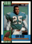 1990 Topps #318  Louis Oliver  Front Thumbnail