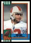 1990 Topps #404  Ron Hall  Front Thumbnail