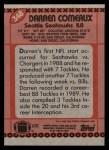 1990 Topps #348  Darren Comeaux  Back Thumbnail