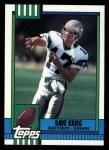 1990 Topps #338  Dave Krieg  Front Thumbnail