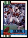 1990 Topps #427  John Stephens  Front Thumbnail