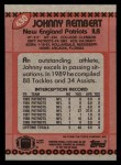 1990 Topps #430  Johnny Rembert  Back Thumbnail