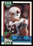 1990 Topps #443  Joe Wolf  Front Thumbnail