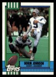 1990 Topps #347  Norm Johnson  Front Thumbnail