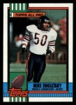 1990 Topps #368  Mike Singletary  Front Thumbnail